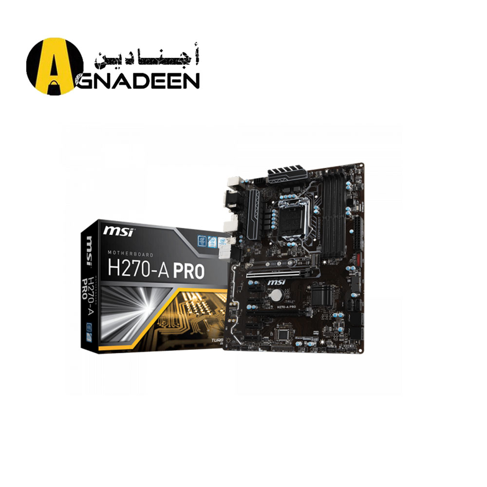 H270-A PRO LGA 1151 - 2-Way CrossFireX - ATX Motherboard