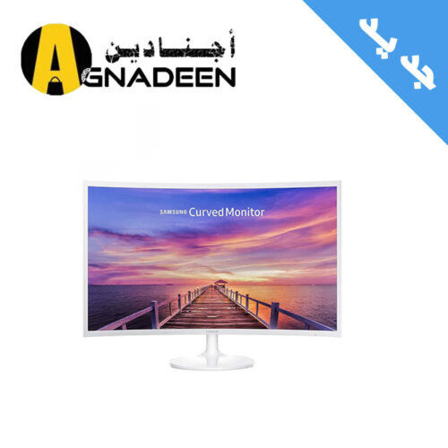 Samsung 32-inch Curved LED Monitor White LC32F391FWM