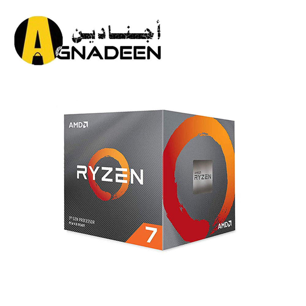 AMD Ryzen 7 3700X 8-Core 16-Thread Desktop Processor with Wraith Prism LED Cooler