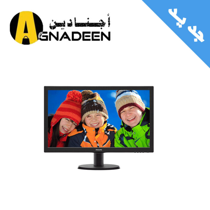 """Philips 24"""" Full HD 1920x1080 LED Monitor with Speakers (243V5QHABA)"""