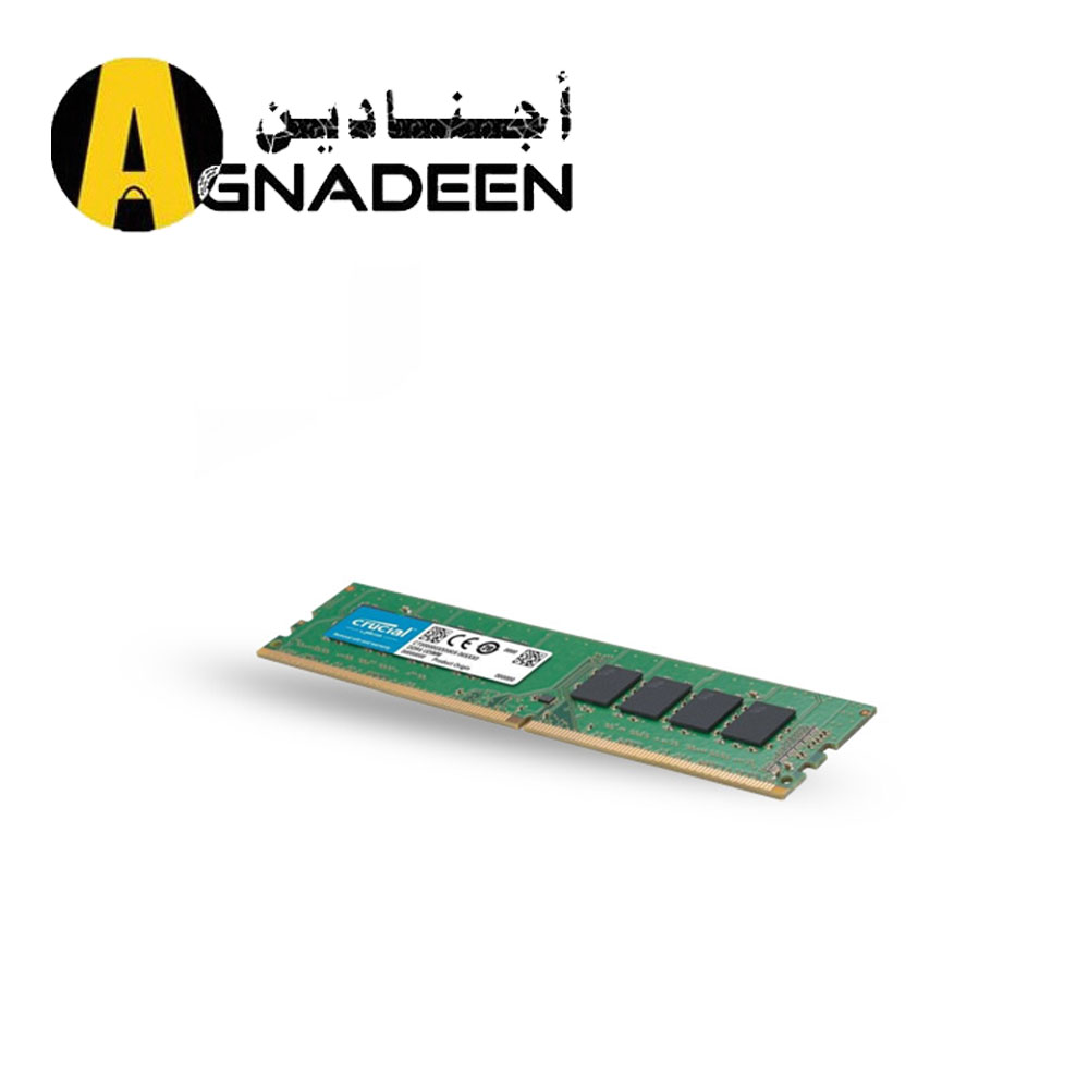 Crucial 16GB DDR4 2666 MHz UDIMM Memory Module for PC