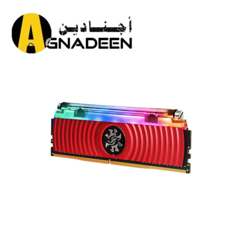Adata XPG Spectrix D80 RGB 16GB 16GBx1 DDR4 3000MHz Red Edition With Hybrid Liquid-Air Cooling