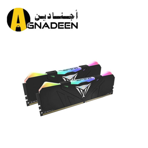 Patriot Viper Gaming RGB Series DDR4 DRAM 3200MHz 16GB 2 8 Kit - Black - RGB