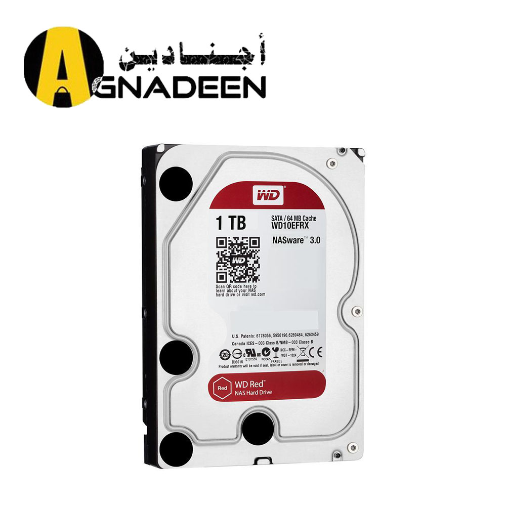 WD Red 1TB NAS Hard Disk Drive - 5400 RPM Class SATA 6Gb s 64MB Cache 3.5 Inch - WD10EFRX
