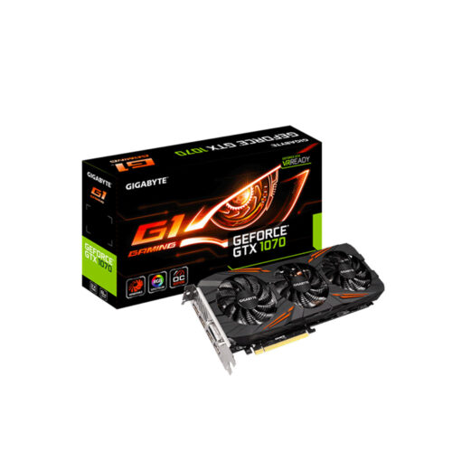 VGA Card GeForce GTX 1070 G1 Gaming 8G