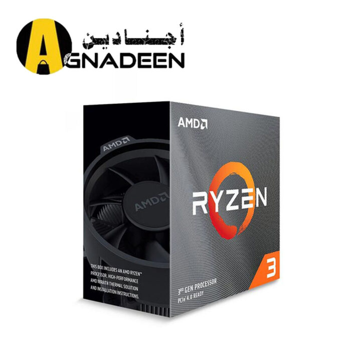 AMD Ryzen 3 3100 Desktop Processor AMD Wraith Stealth cooler 4 cores and 8 processing threads