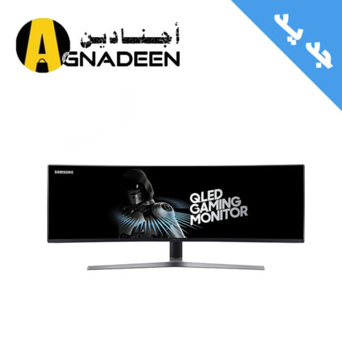 SAMSUNG 49 QLED Gaming Monitor 3840 x 1080 - 1 MPRT - 144 Hz Super Ultra-wide screen LC49HG90DMMXZN