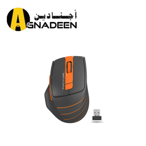 A4TECH 2.4G WIRELESS MOUSE FG30S ORANGE