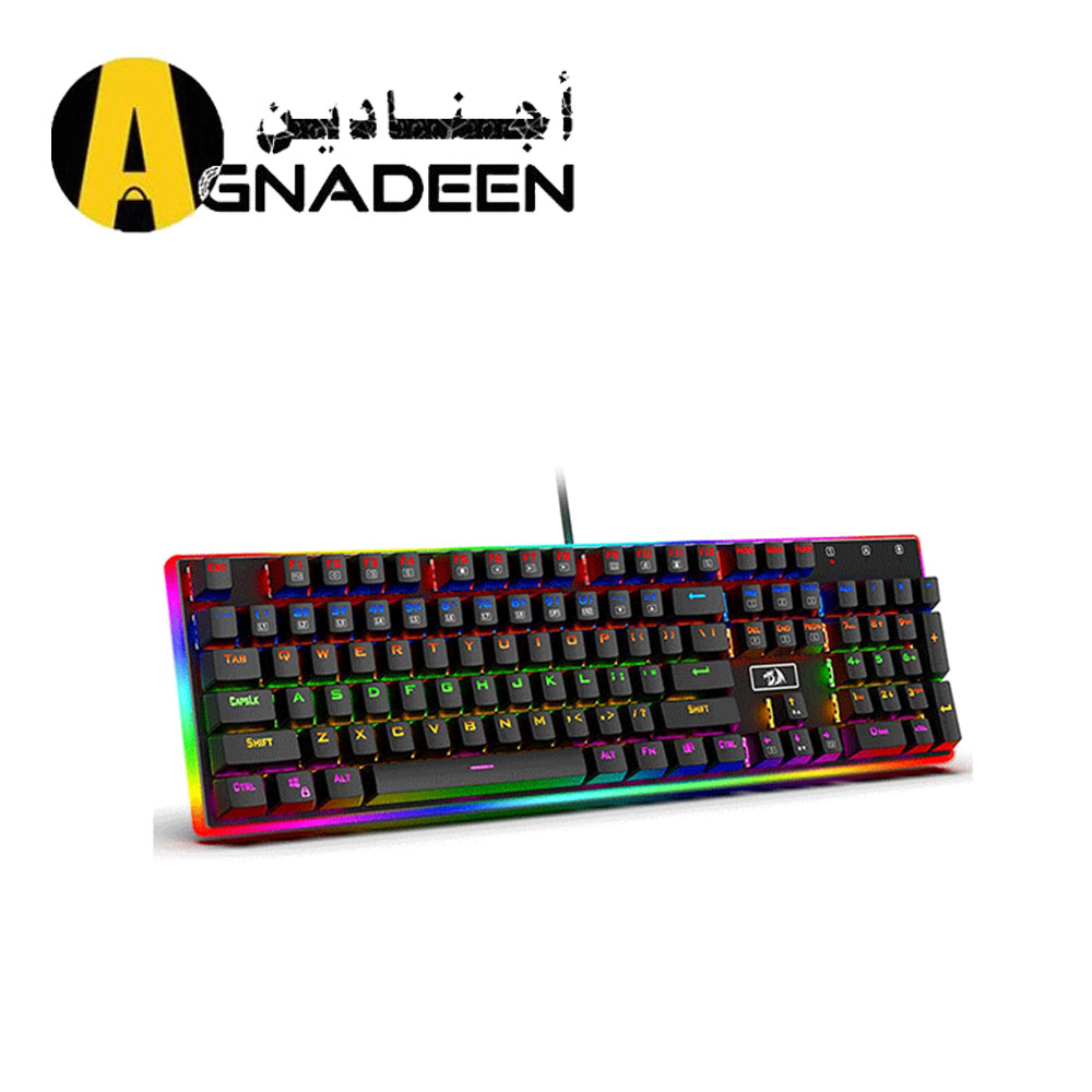 Redragon K577R Kali Mechanical Gaming Keyboard Rainbow Backlit Brown Switches