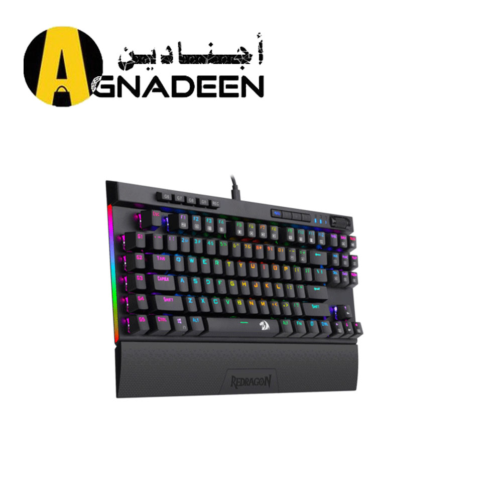 Redragon K587 MAGIC-WAND 87 Keys Compact RGB TKL Mechanical Gaming Keyboard