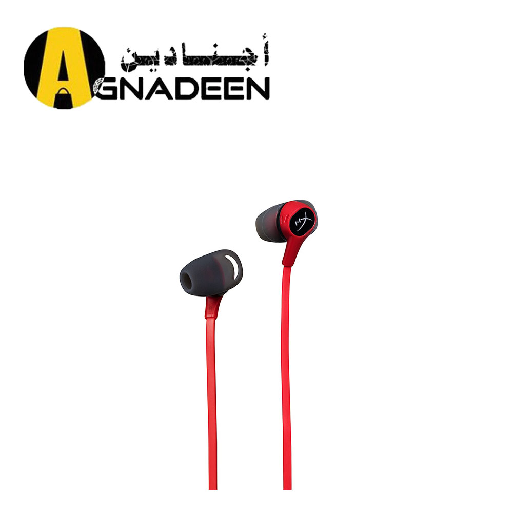 HyperX Cloud Earbuds Gaming Headphones with Mic HX-HSCEB-RD