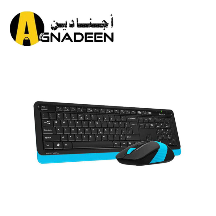 KB Mouse A4tech Wireless Fstyler FG1010 BLUE