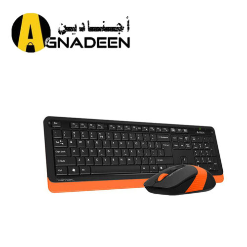 KB Mouse A4tech Wireless Fstyler FG1010 ORANGE
