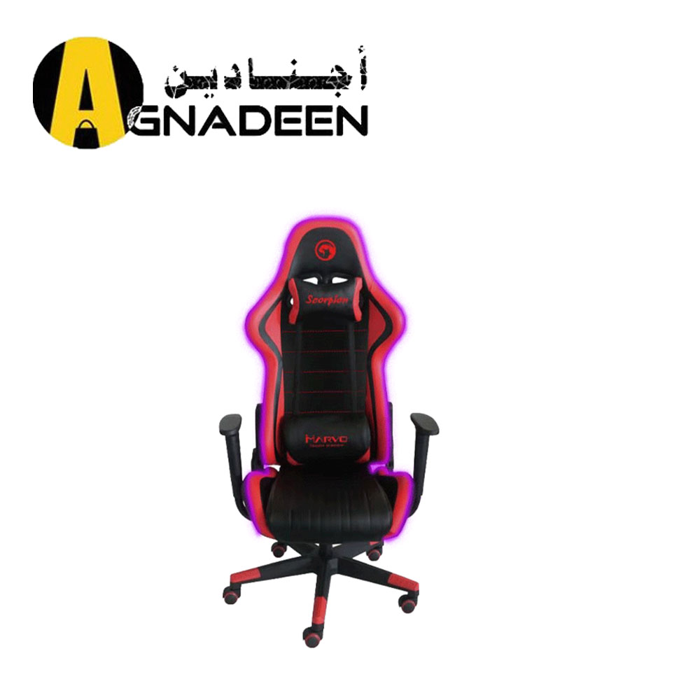 Marvo Scorpion CH-107 RGB Adjustable Gaming Chair