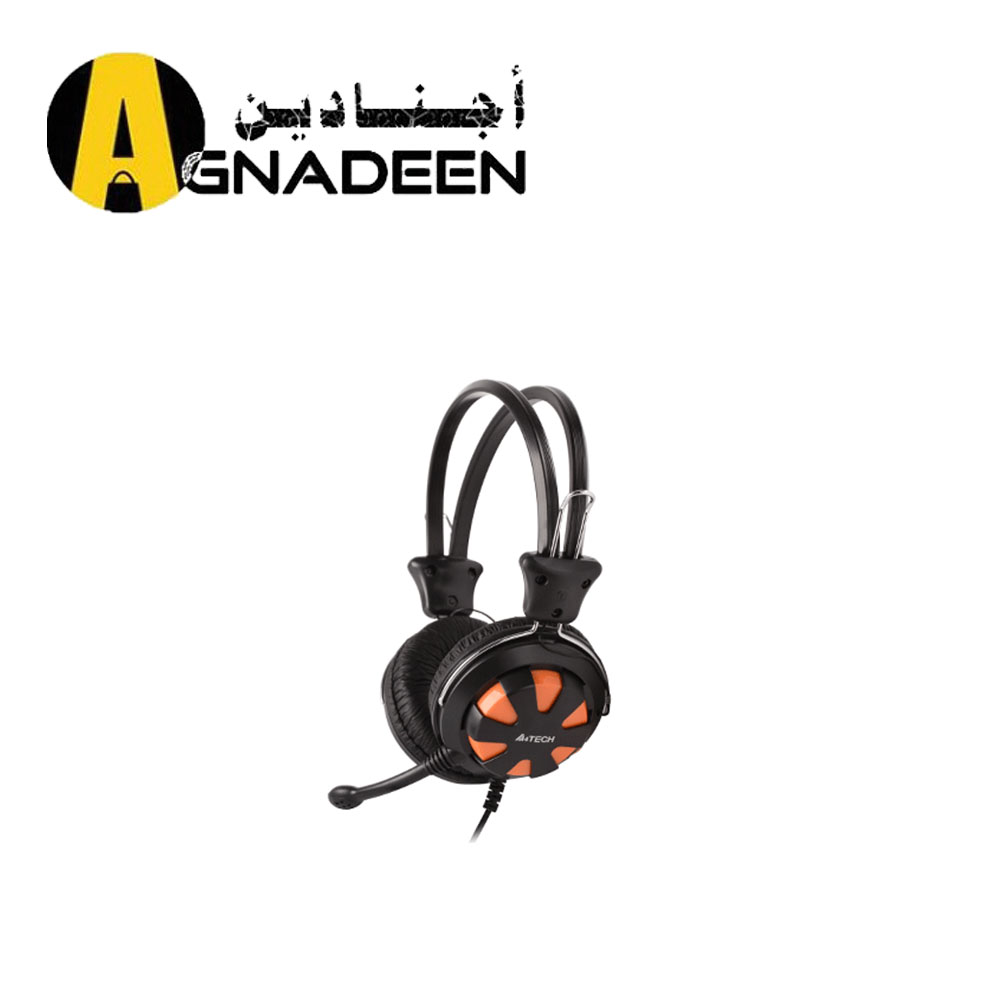 A4TECH ComfortFit Stereo Headset HS-28 orange