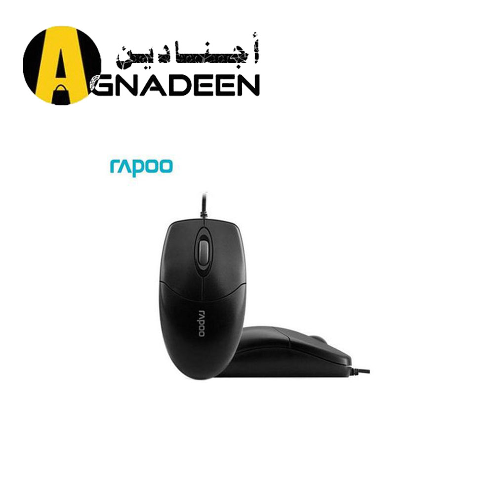 Rapoo N1020 Wired Optical Mouse -USB