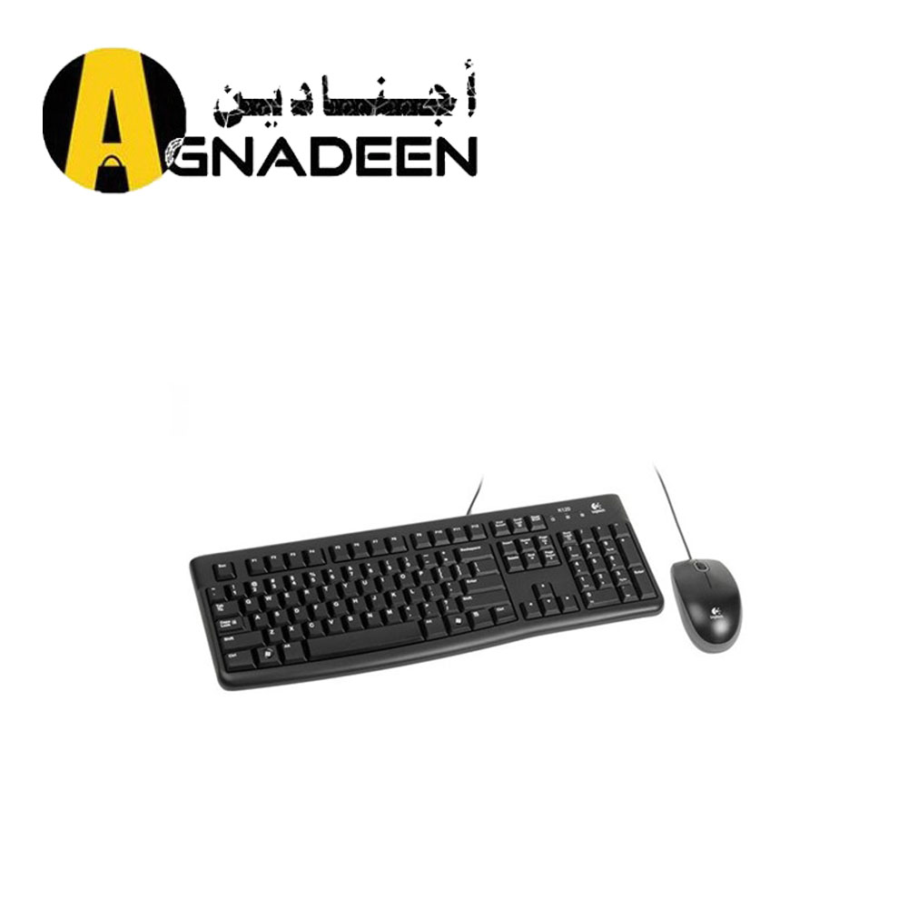 Logitech Mk120 Wired Keyboard And Mouse Combo