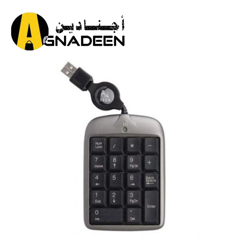Wired Numpad TK-5 Retractable USB Keypad