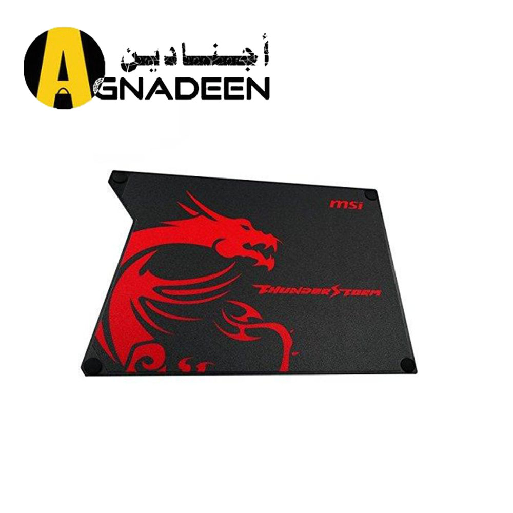 MSI ThunderStorm Aluminum Gaming Mousepad with Speed Surface