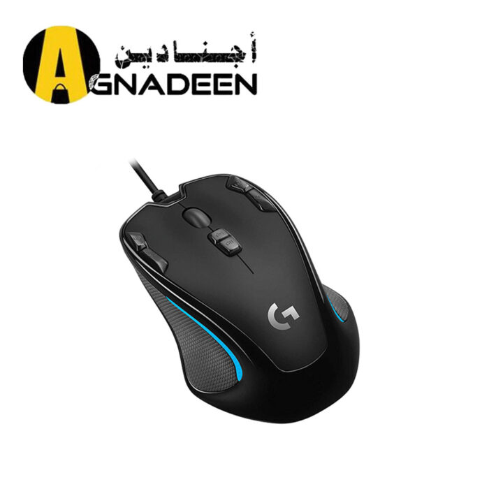 Logitech G300s Optical Ambidextrous Gaming Mouse 9 Programmable Buttons Onboard Memory