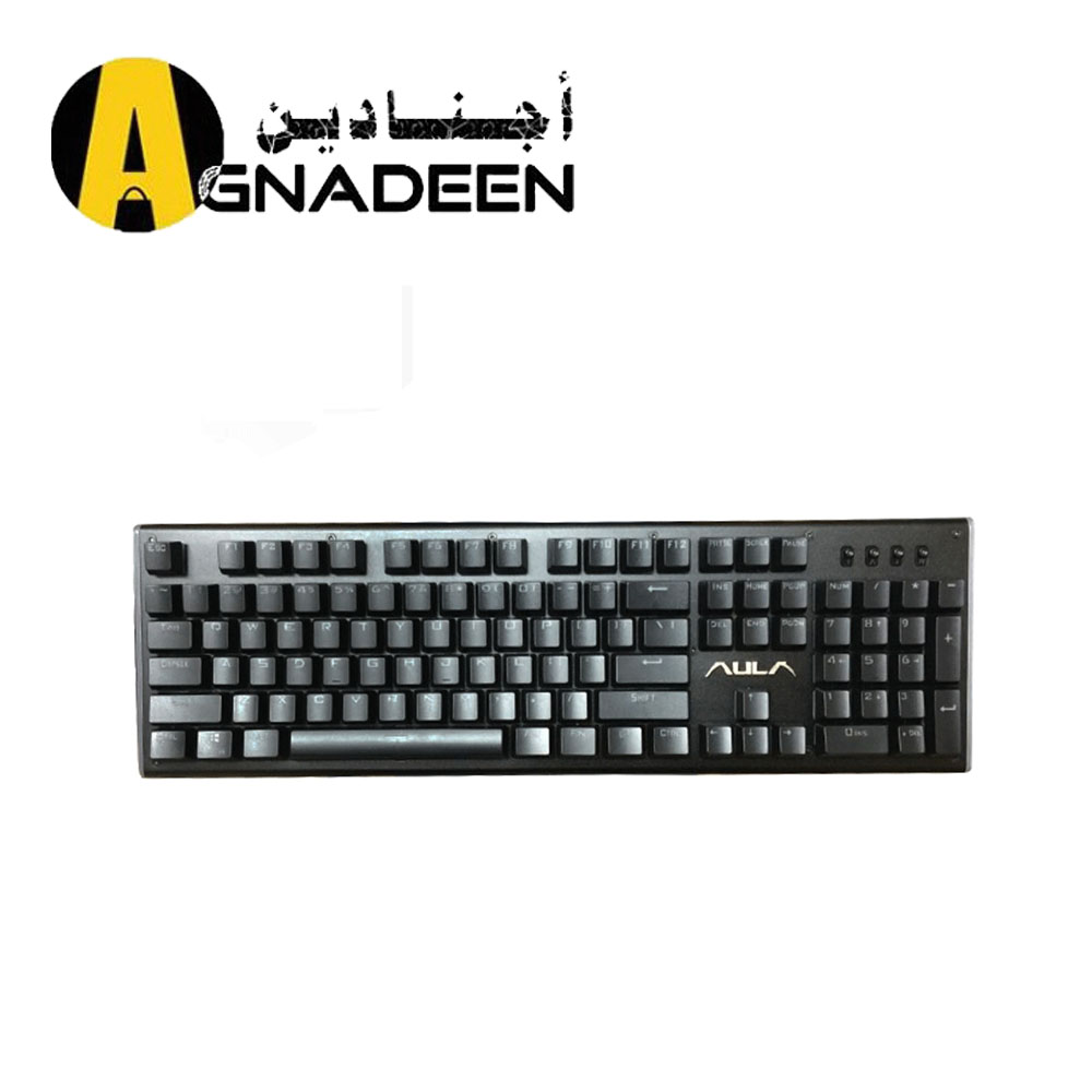 KEYBOARD AULA MECHANCAIL SI 2056 BLACK BLACK BLUE RAINBOW
