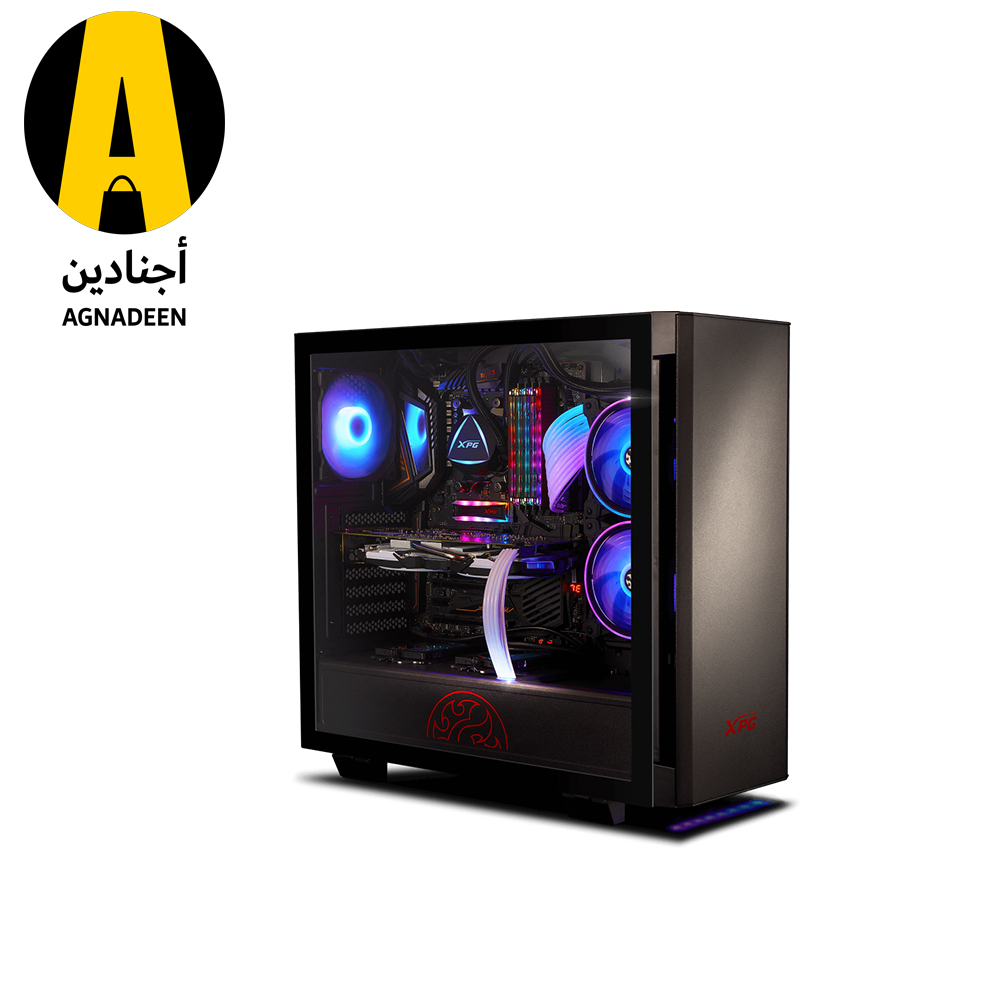XPG INVADER ARGB- BLACK Mid-Tower Gaming Chassis