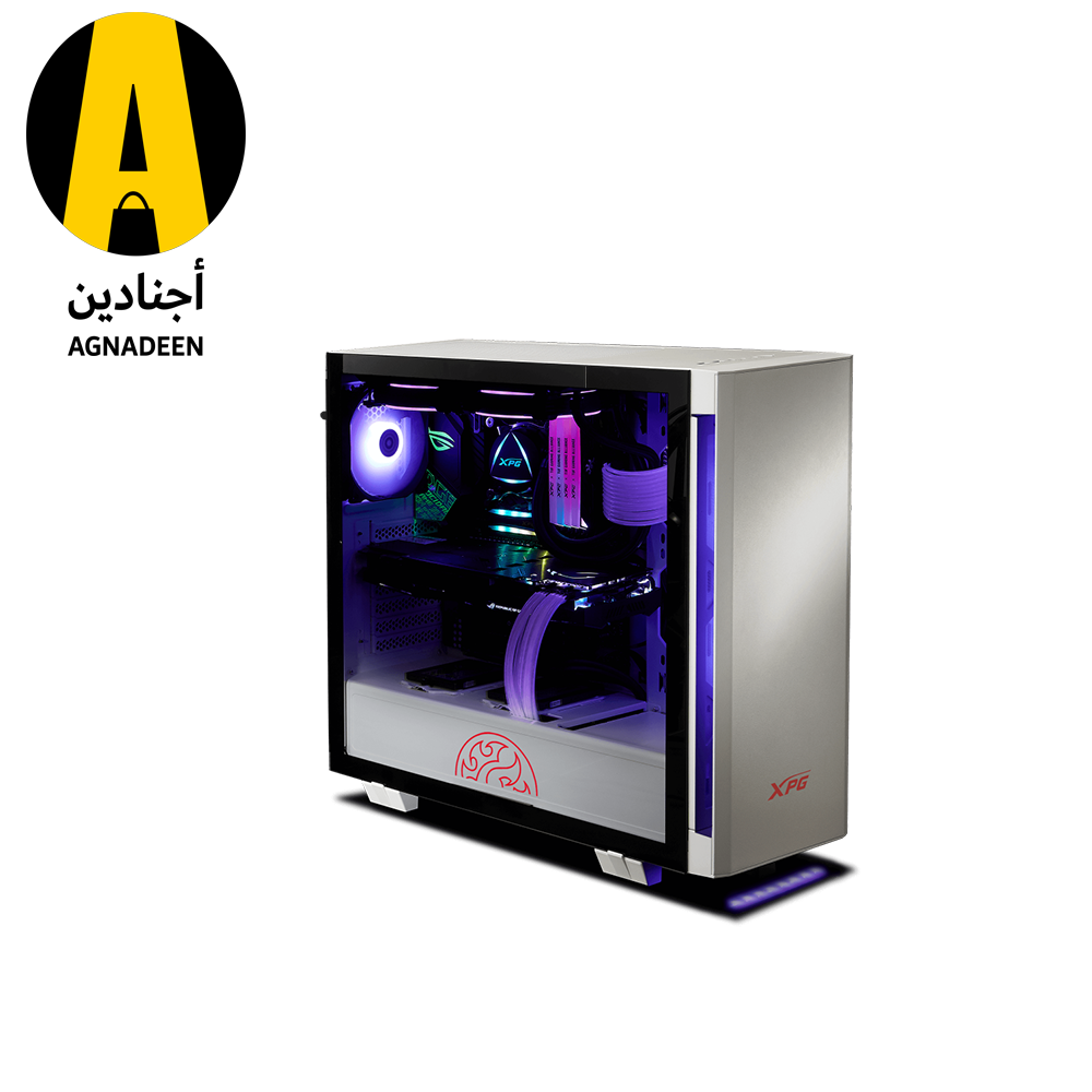 XPG INVADER ARGB- WHITE Mid-Tower Gaming Chassis